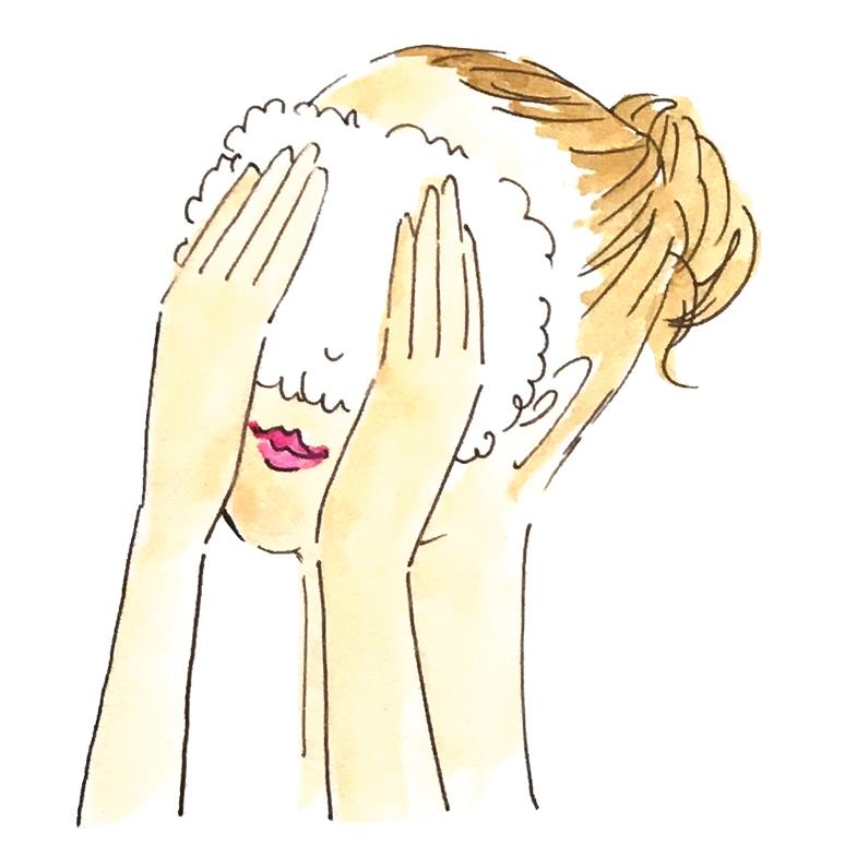 血色の悪さや肌の乾燥対策にホットタオルの活用を